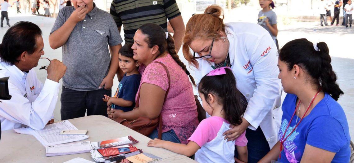 Realiza DIF jornada integral de Salud en la Arcoiris