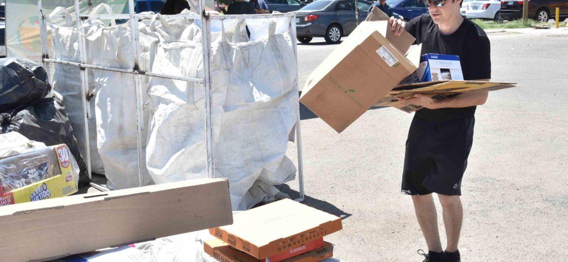Hermosillenses se suman a Hermosillo Recicla todos los sábados