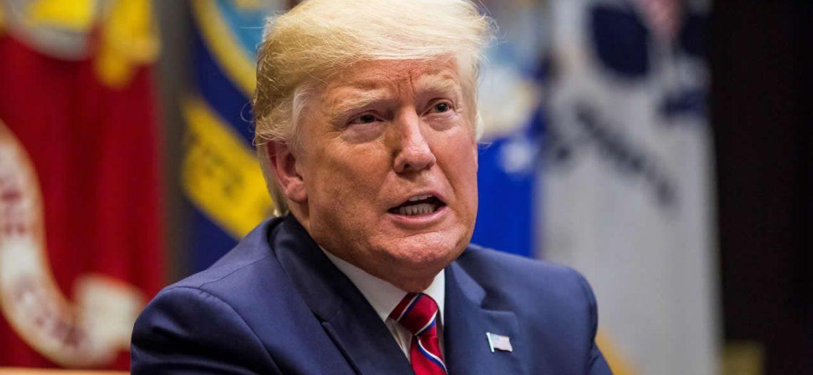 Trump pide al Congreso de EU prohibir los abortos