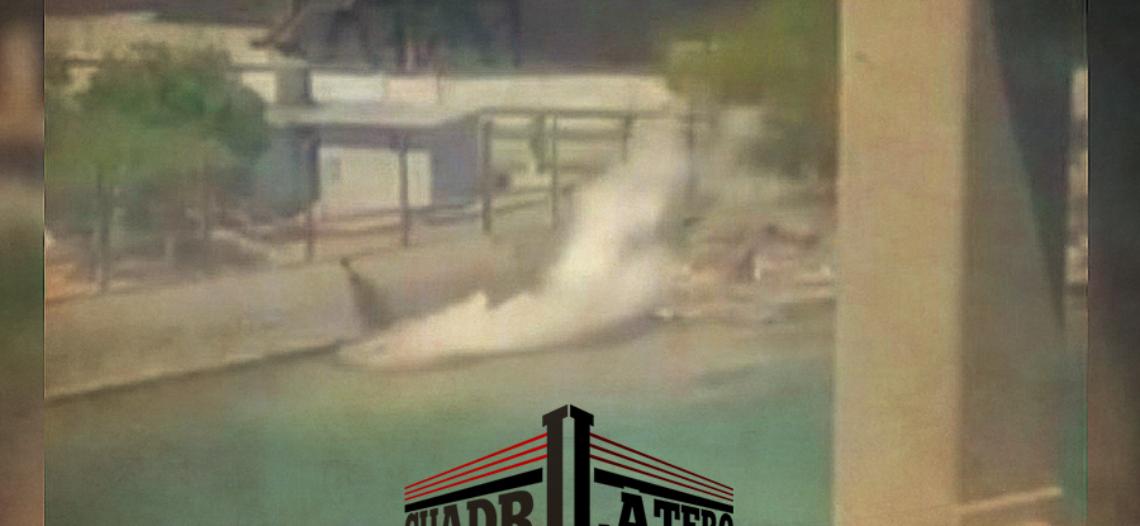 Sara se sube al ring por riesgo de impacto a la bahía