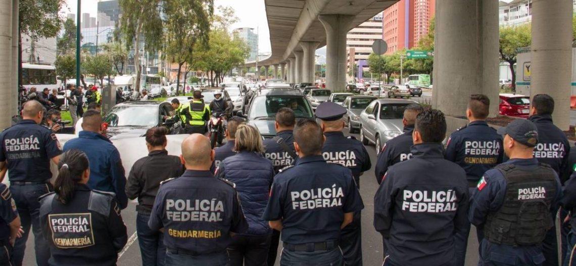 Inician liquidaciones en la Policía Federal: Alfonso Durazo