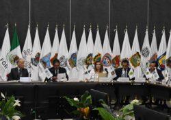 Participa Gobernadora en reunión con Fiscal General de la República