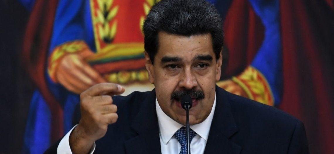 Maduro se declara 'en batalla' contra bloqueo de EU