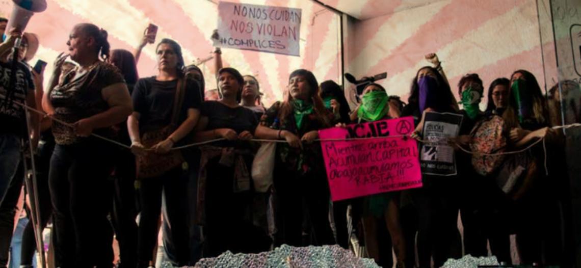 No a la protesta violenta