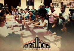 Con verbo, Marín libra lucha en Cabildo