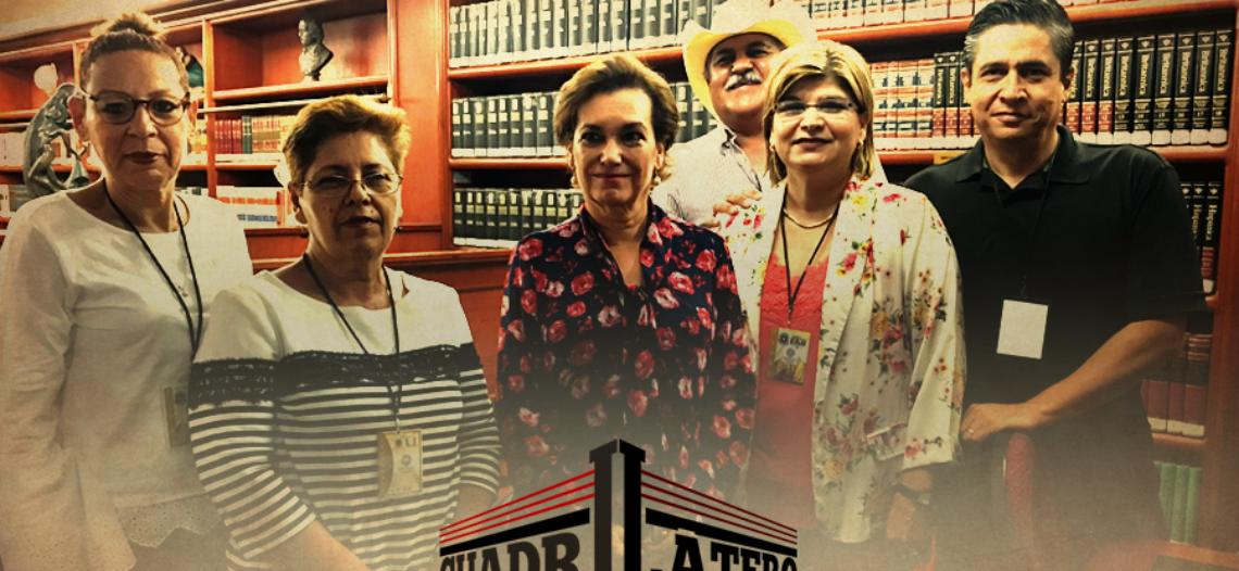 Dolores del Rio recibe a promotores de revocación