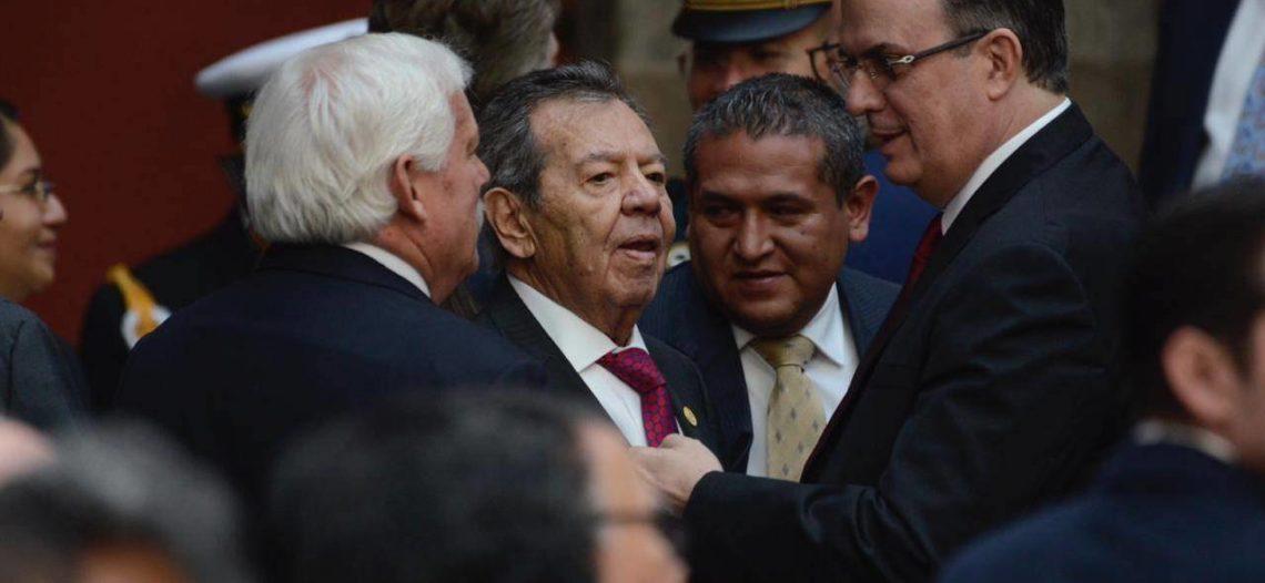 Muñoz Ledo renuncia a la presidencia de la Cámara de Diputados