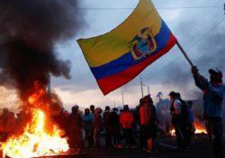 Caos en Ecuador: Así se viven las brutales manifestaciones