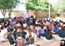 Imparten Mediación Escolar en Secundaria número 12
