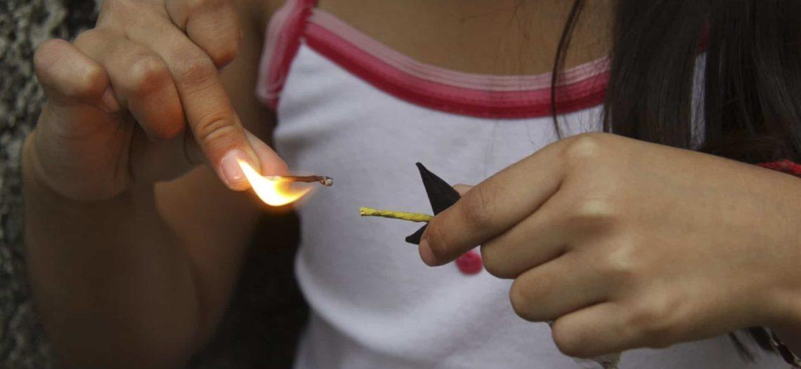 Pirotecnia puede provocar lesiones graves en los menores