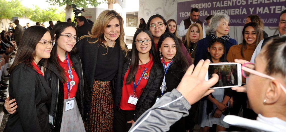 Impulsa Gobernadora talento de niñas y jóvenes