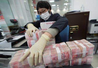 China pone en cuarentena hasta el dinero por coronavirus