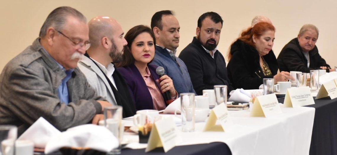 Se reúne alcaldesa de Hermosillo con sector hotelero