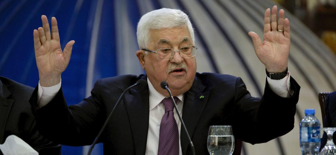 Presidente palestino rompe relaciones con Israel y EU