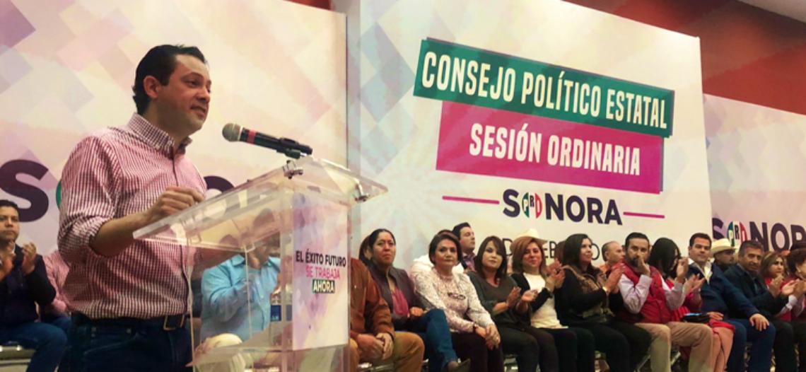 """""""El PRI sabe levantarse"""": Pato De Lucas"""
