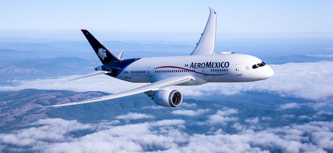 Aeroméxico suspenderá vuelos nacionales e internacionales por Covid-19