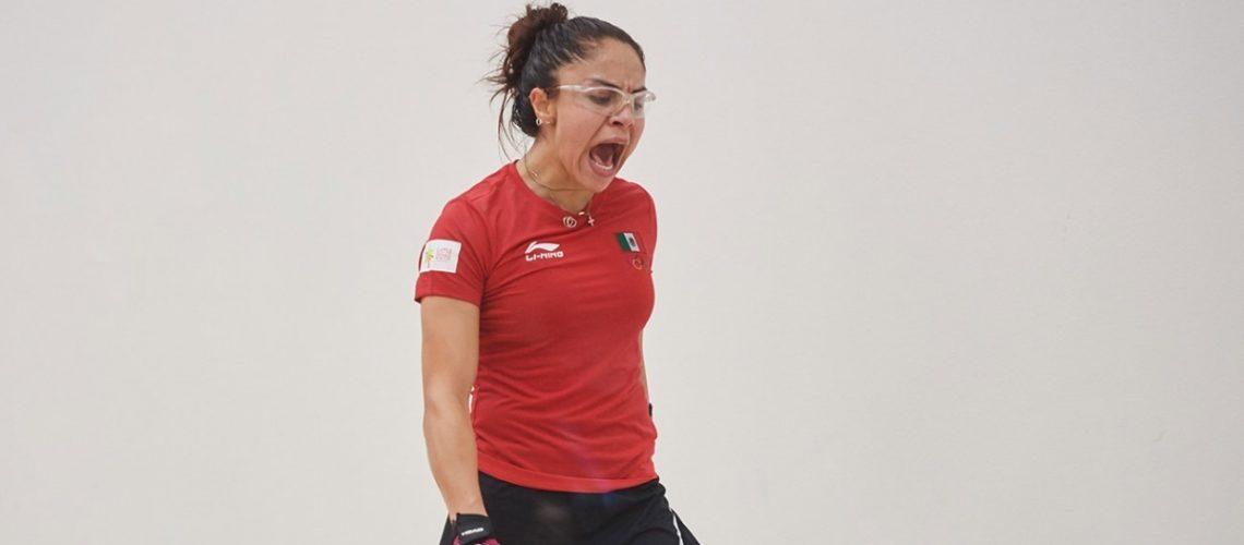 Paola Longoria se perderá un torneo por el Covid-19